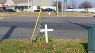 Roadside Memorial for Stephanie Will (1 of 3)