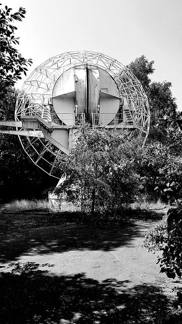 Alte ESOC-ESA Bodenstation Michelstadt Lost Place...
