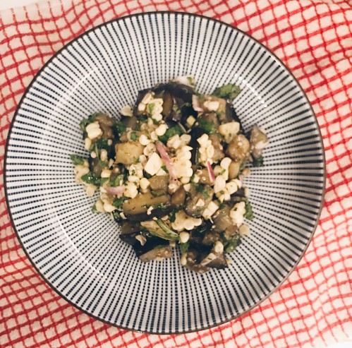 Eggplant and Corn Salad | by ext212