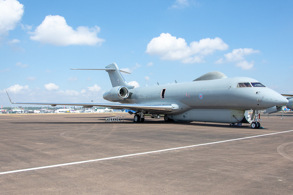 ZJ692 | Bombardier BD700 Sentinel R.1 | RAF - Royal Air Force