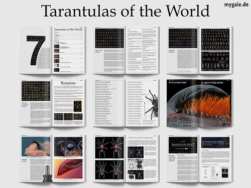 "The official ""Tarantulas of the World"" handbook V2.0 
