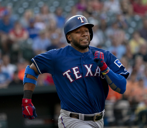 Elvis Andrus | by KA Sports Photos