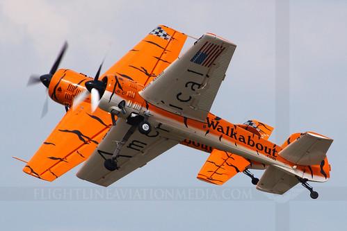 columbus airforce base afb cbm kcbm airport mississippi airshow twintigers aerobatic team yakovlev yak55 zeek titus n922gr n921gr 8963820 aircraft airplane