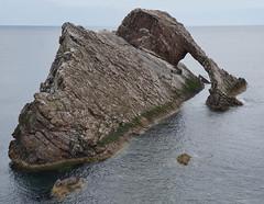 Arco marino - Bow Fiddle Rock (Portknockie, Escocia, Reino Unido)