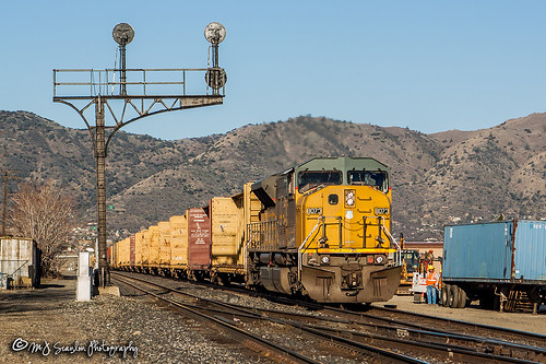 UP 8073 | EMD SD9043MAC | UP Mojave Subdivision