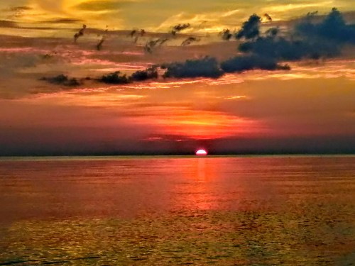 ontario sarnia sunrise lakehuron canada