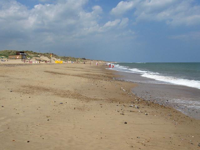 The coast near Hemsby