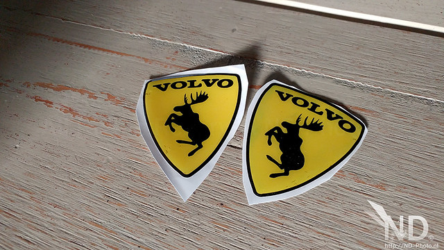 Volvo S80 2.4T Prancing Moose Decal