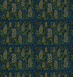banksias fabric print