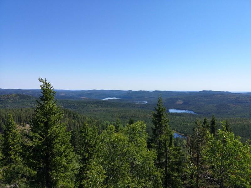 09-Utsikt mot Glitre fra Snaukollen