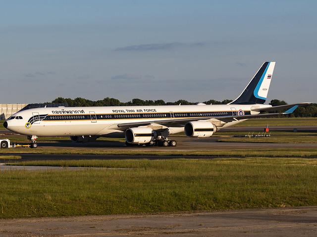 Royal Thai Air Force | Airbus A340-541 | 60204 (HS-TYV)