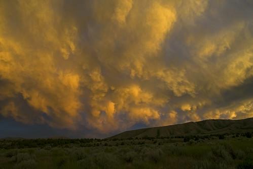idaho sunset clouds southeastidaho