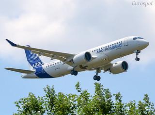 C-FFDO New Airbus A220 ex CS300 | by @Eurospot