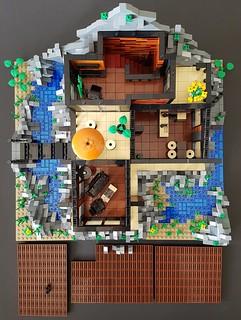 Lava House MOC interior display | by betweenbrickwalls