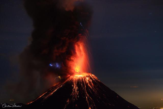 Mexico's Colima volcano eruption