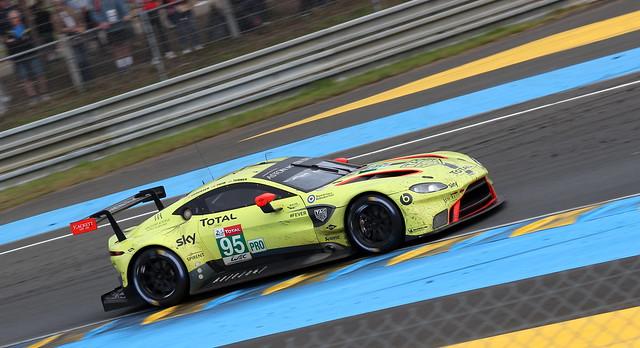 24 Hours of Le Mans 2018 Aston Martin Vantage AMR #95