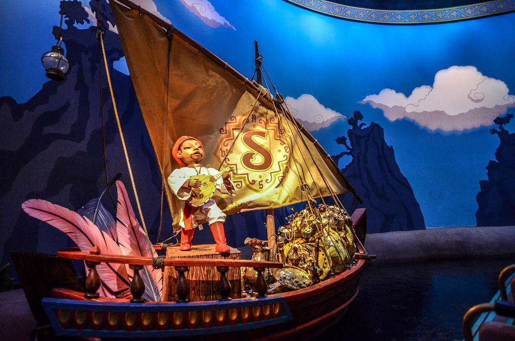 Sinbad singing in boat TDS