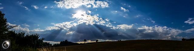 Crepuscular Ray Panorama 16/07/18