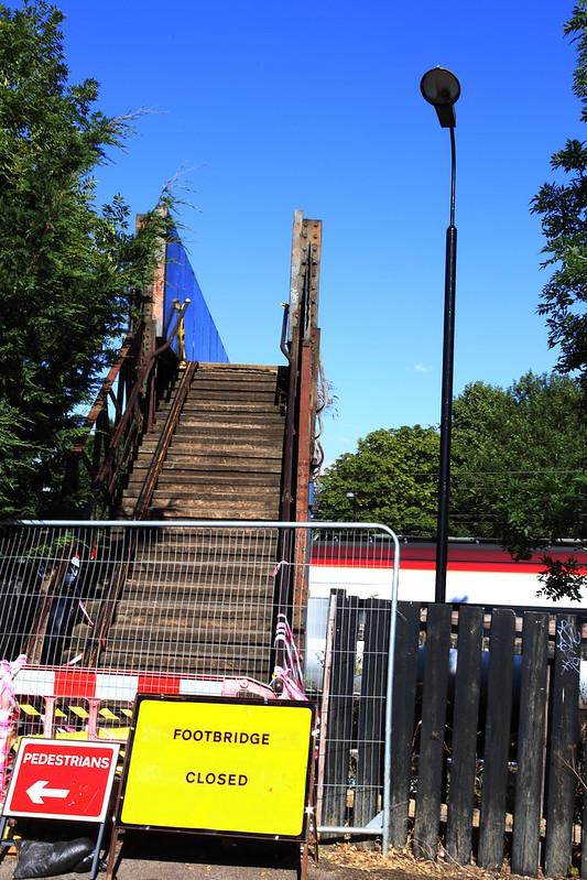 Footbridge Closed