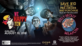 We Happy Few: Uncle Jack Live VR for PS VR | by PlayStation.Blog
