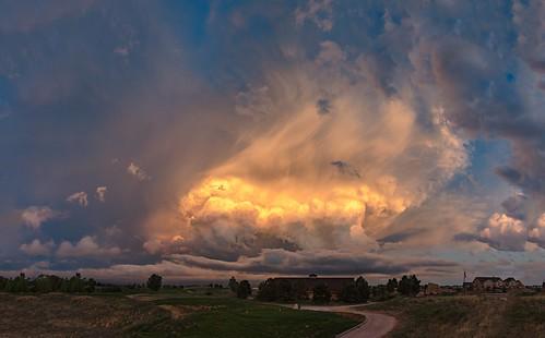 storms stormclouds stormy coloradosunsets colorado coloradosprings pano nikon d810 nikond810