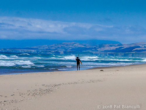 Kite Surfer-2-San Gregorio Beach-01215