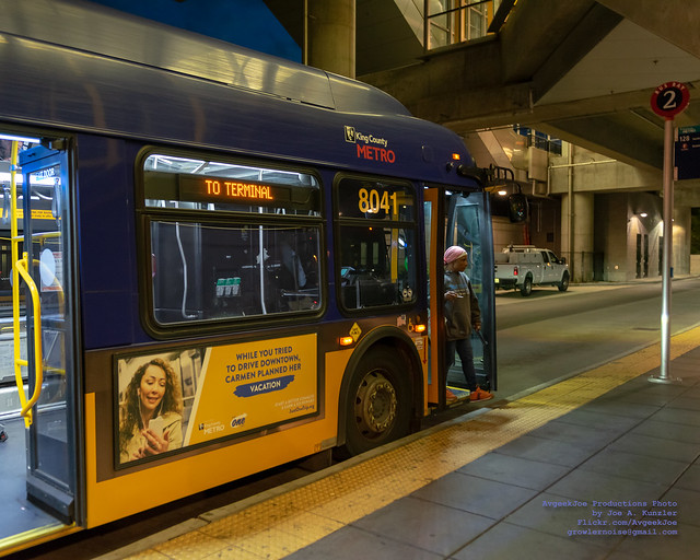 End of the Line for @KCMetroBus 124 at Tukwila Station