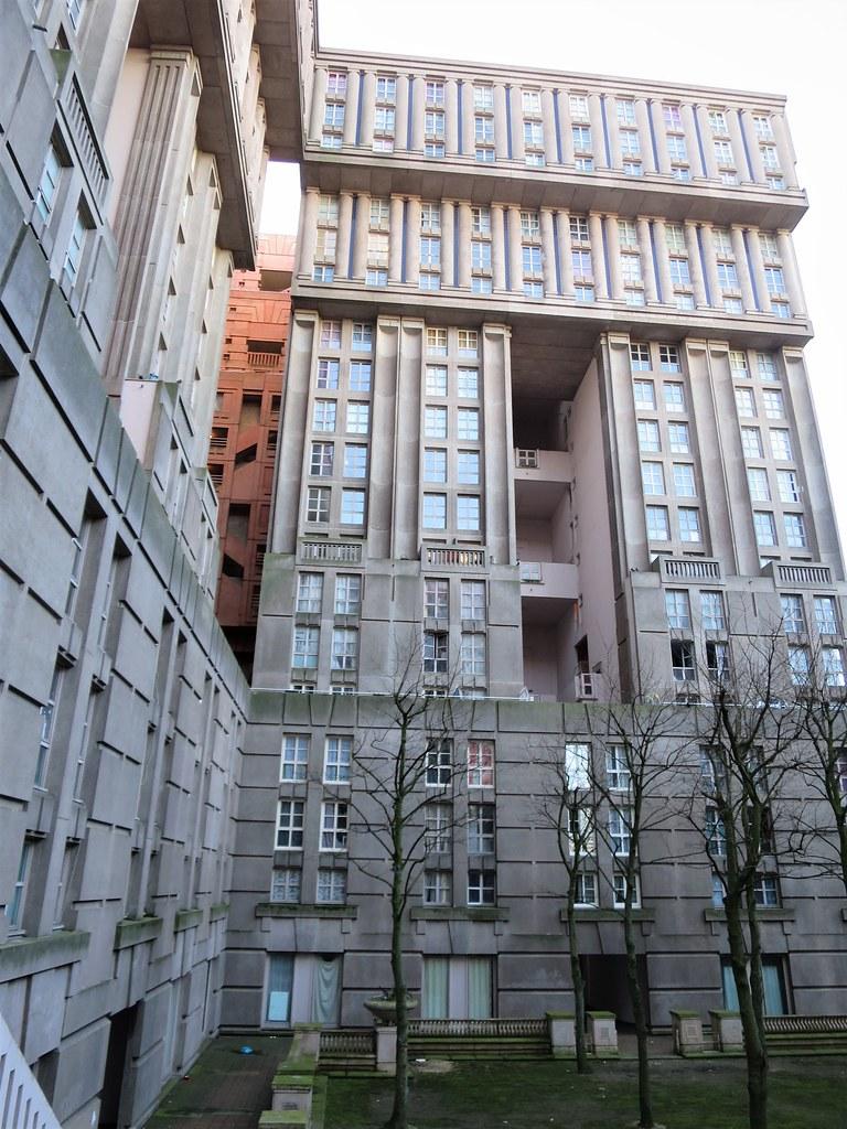 Noisy Le Grand Architecture palacio abraxas (1983), noisy-le-grand (93) | architecte ric