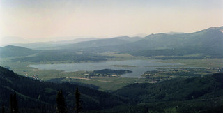 haze over steamboat lake | by bc50099