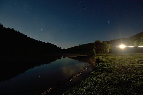 night starts lightpollution lake nature hungary nikon d610 nikkor 1635