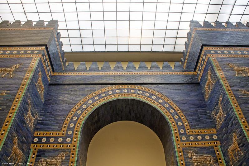 La porta di Ishtar dell'antica Babilonia, Pergamonmuseum