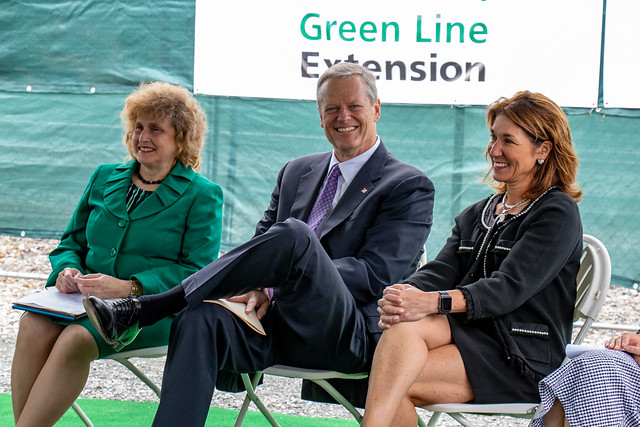 Groundbreaking Ceremony for the Green Line Extension Project 06.25.18