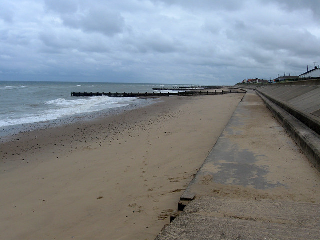 The coast near Ostend