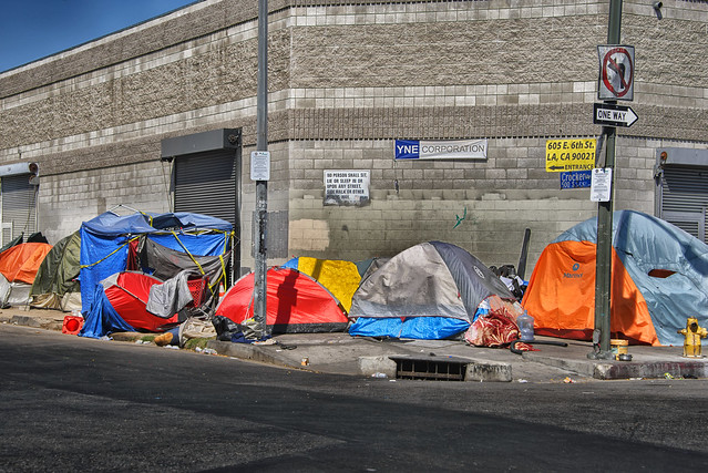 Tenting (Homeless in Los Angeles)