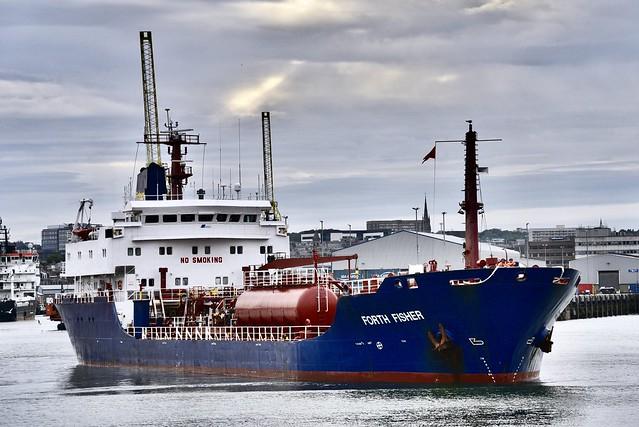 Forth Fisher - Aberdeen Harbour Scotland - 9/7/2018