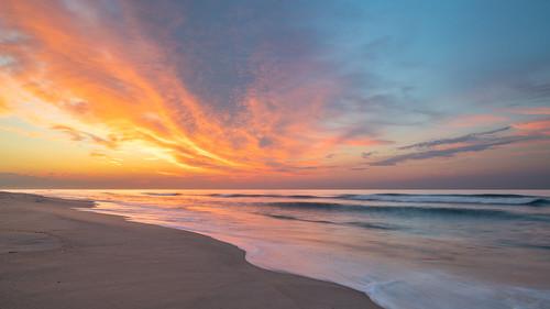 20mm d850 july landscape lbi longexposure ocean summer sunrise water
