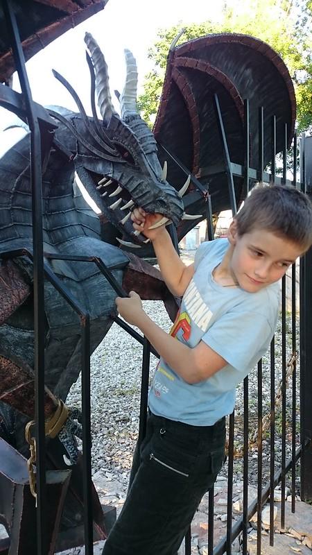 у дракона