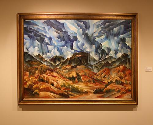 nativeamerican tonyabeyta oil landscape jamesmuseum stpetersburg florida gulfcoast