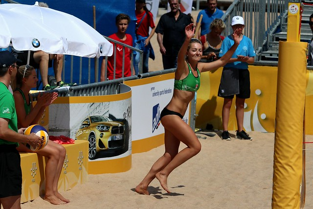 WUC 2018 Beachvolleyball - Megan McNamara