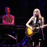 Thu, 21/06/2018 - 10:01pm - Aimee Mann and her band (including Jonathan Coulton) play in Prospect Park, Brooklyn, 6/21/18. Broadcast live on WFUV Public Radio. Photo by Gus Philippas/WFUV