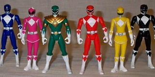 mighty-morphin-power-rangers-toys-3jpg | by digijean