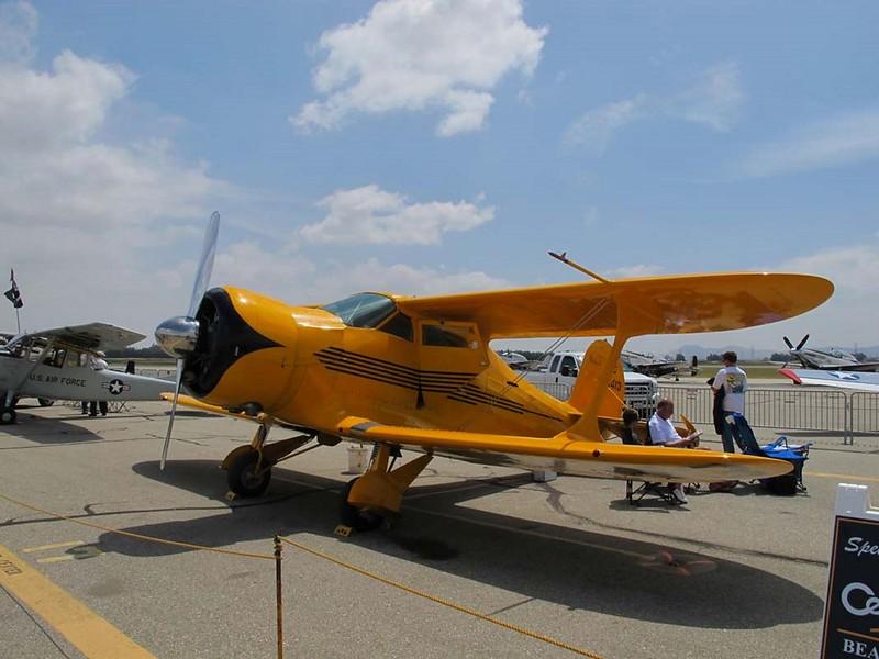 Beechcraft B17R Staggerwing 1