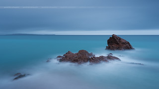 Sweet-Dark (Blue) Rockscape in Cannes | by Yannick Lefevre