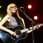 Thu, 21/06/2018 - 9:23pm - Aimee Mann and her band (including Jonathan Coulton) play in Prospect Park, Brooklyn, 6/21/18. Broadcast live on WFUV Public Radio. Photo by Gus Philippas/WFUV