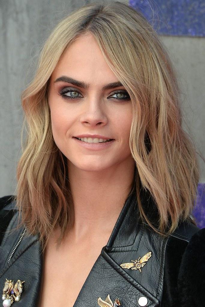 Idée Coiffure : coupe de cheveux mi long, coloration blond… | Flickr