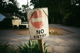 Sign: No Entry | by Matthew Paul Argall