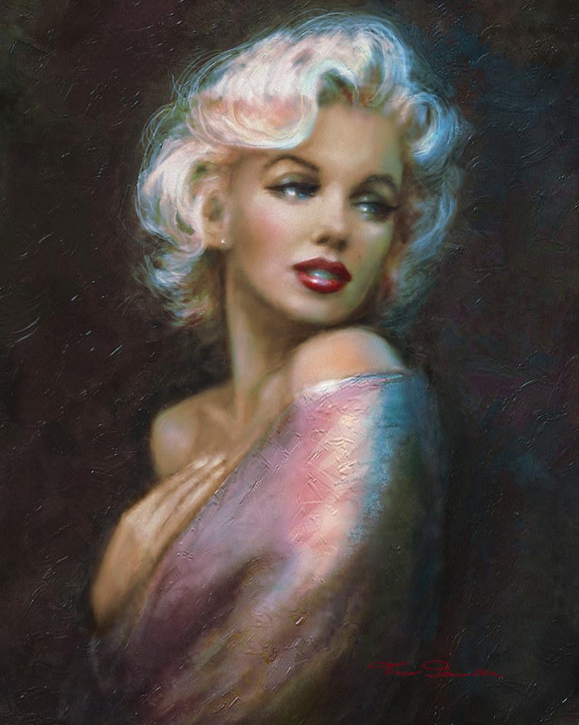 Marilyn WW blue