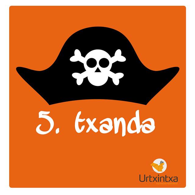 Udaleku Piratak 2019 - 5.txanda