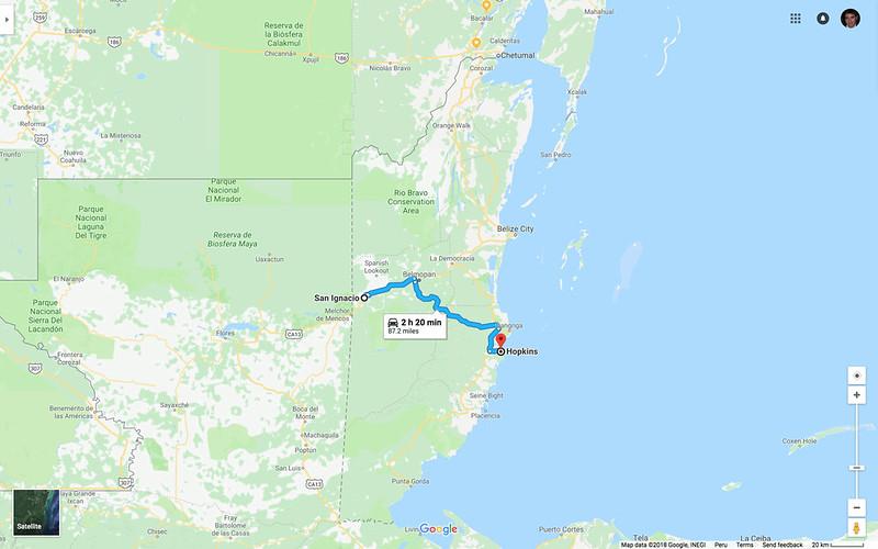 Map_Belize_ToSanIgnacio