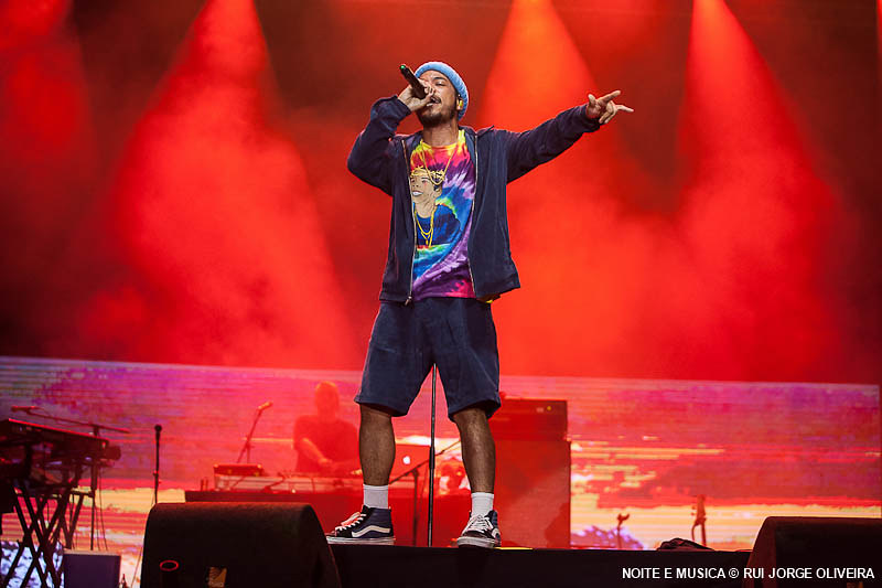 Anderson .Paak & The Free Nationals - Super Bock Super Rock 2018